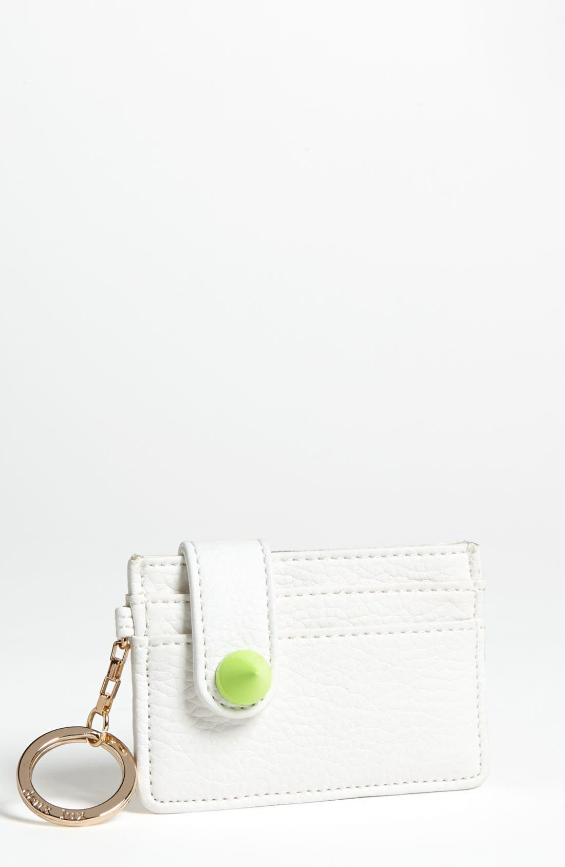 Alternate Image 1 Selected - Deux Lux 'Empire City' Key Ring Card Wallet