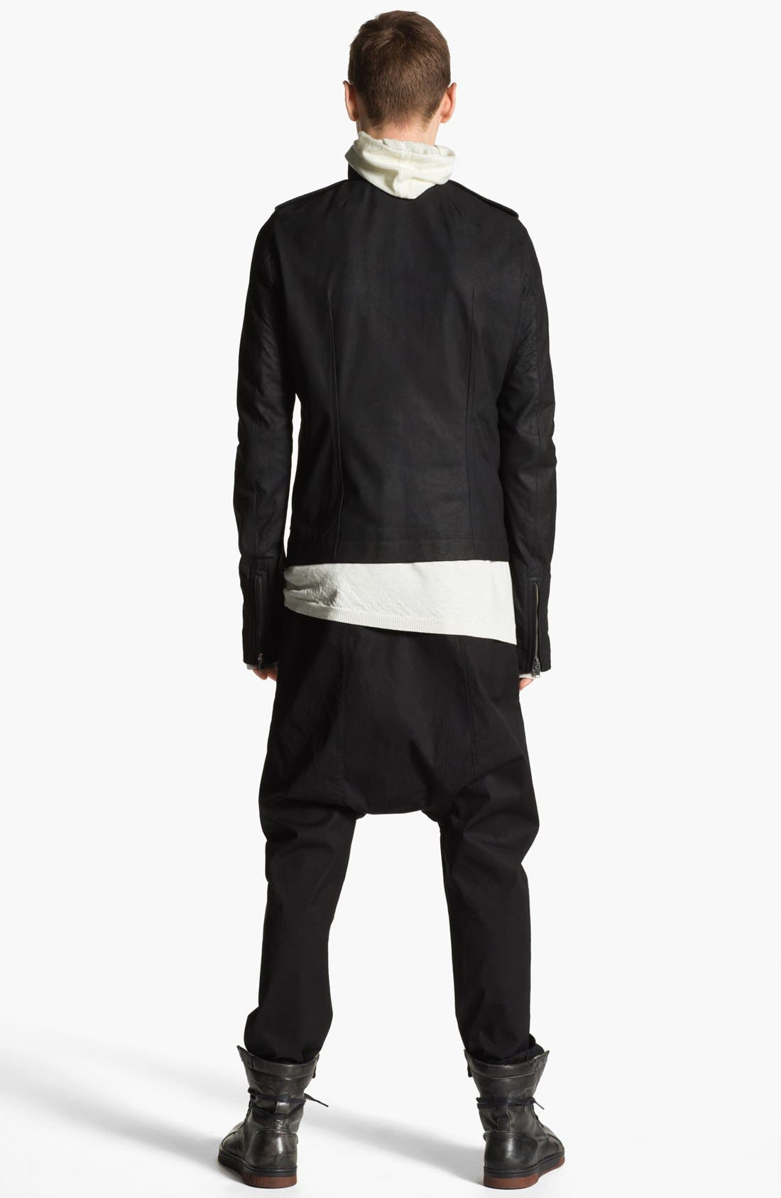 Alternate Image 5  - Rick Owens 'Island' Hooded Merino Wool Sweater