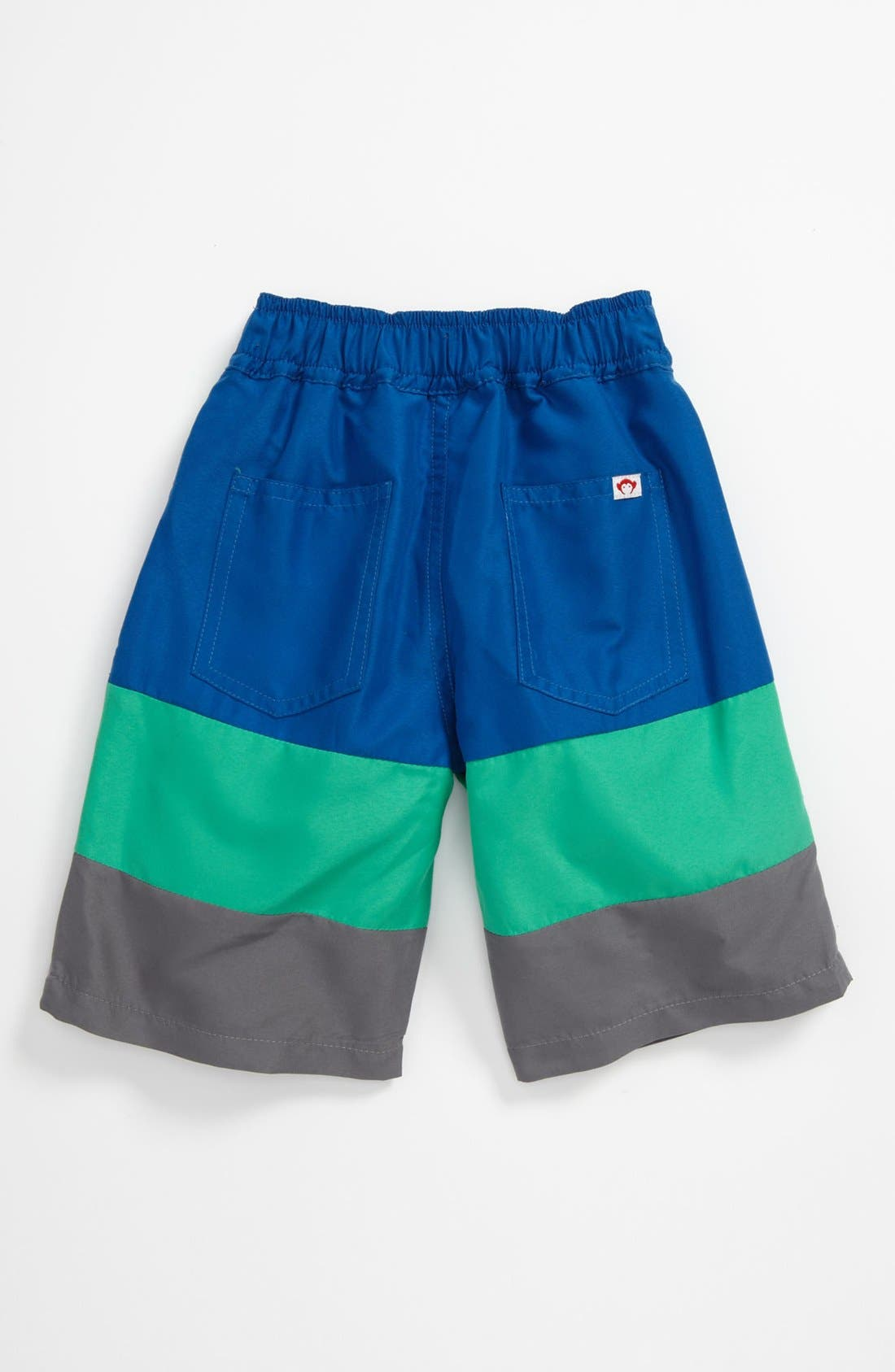 Alternate Image 2  - Appaman Stripe Swim Shorts (Toddler)