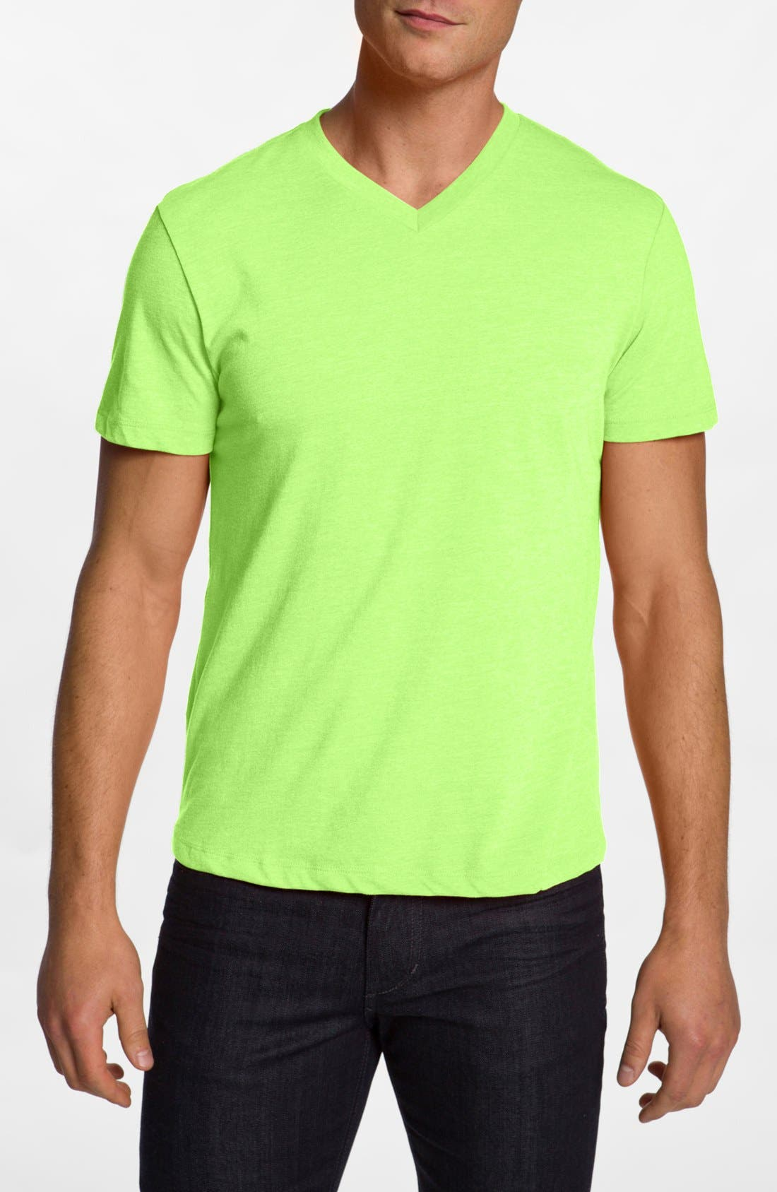 Alternate Image 1 Selected - The Rail Trim Fit V-Neck T-Shirt