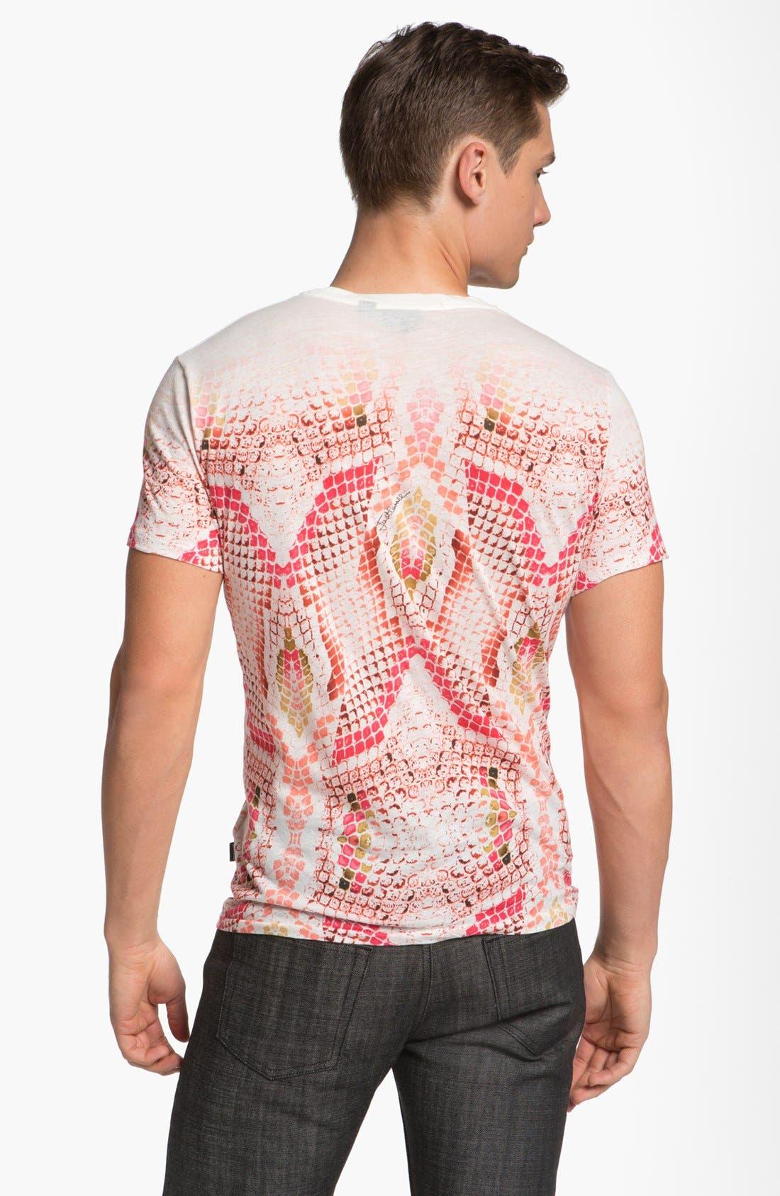 Alternate Image 2  - Just Cavalli Snake Print T-Shirt