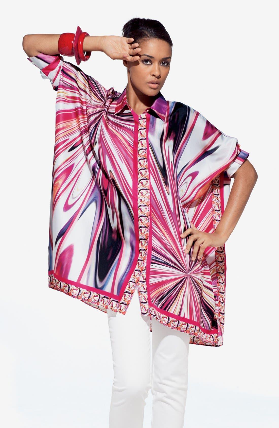 Alternate Image 4  - Lafayette 148 New York 'Nylah' Silk Blouse