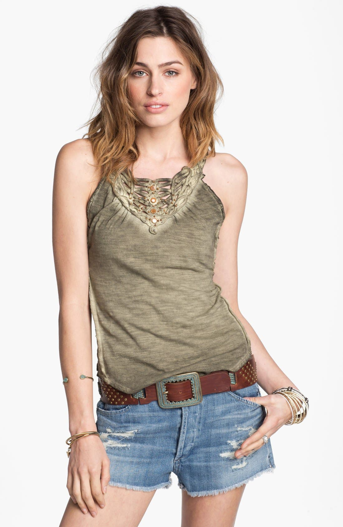 Alternate Image 1 Selected - Free People Cotton Tank