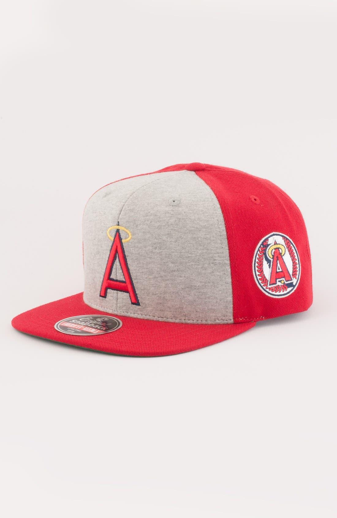 Main Image - American Needle 'Anaheim Angels - Jimbo' Snapback Baseball Cap