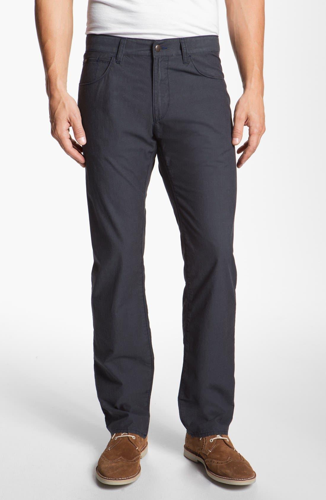 Alternate Image 1 Selected - BOSS HUGO BOSS 'Maine End on End' Five Pocket Pants