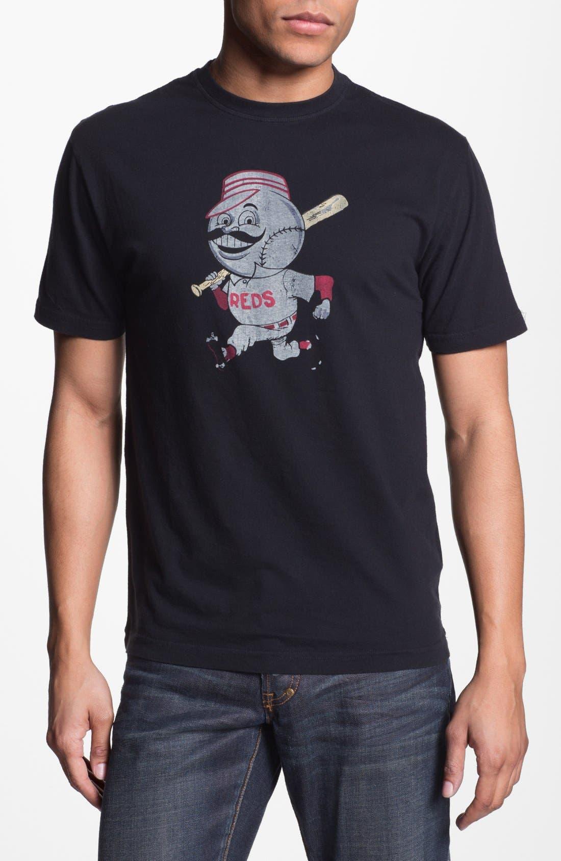 Main Image - Red Jacket 'Cincinnati Reds' Trim Fit T-Shirt (Men)