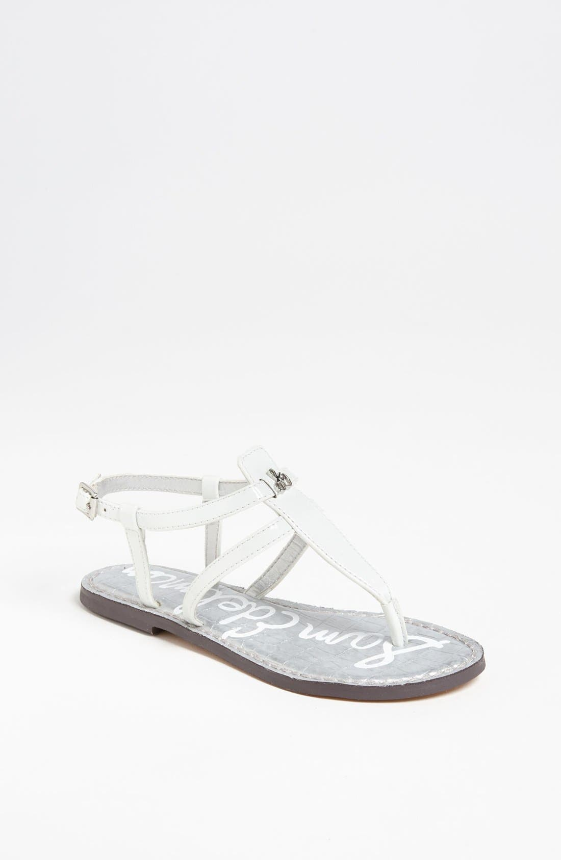 Alternate Image 1 Selected - Sam Edelman 'Gia' Sandal (Toddler, Little Kid & Big Kid)