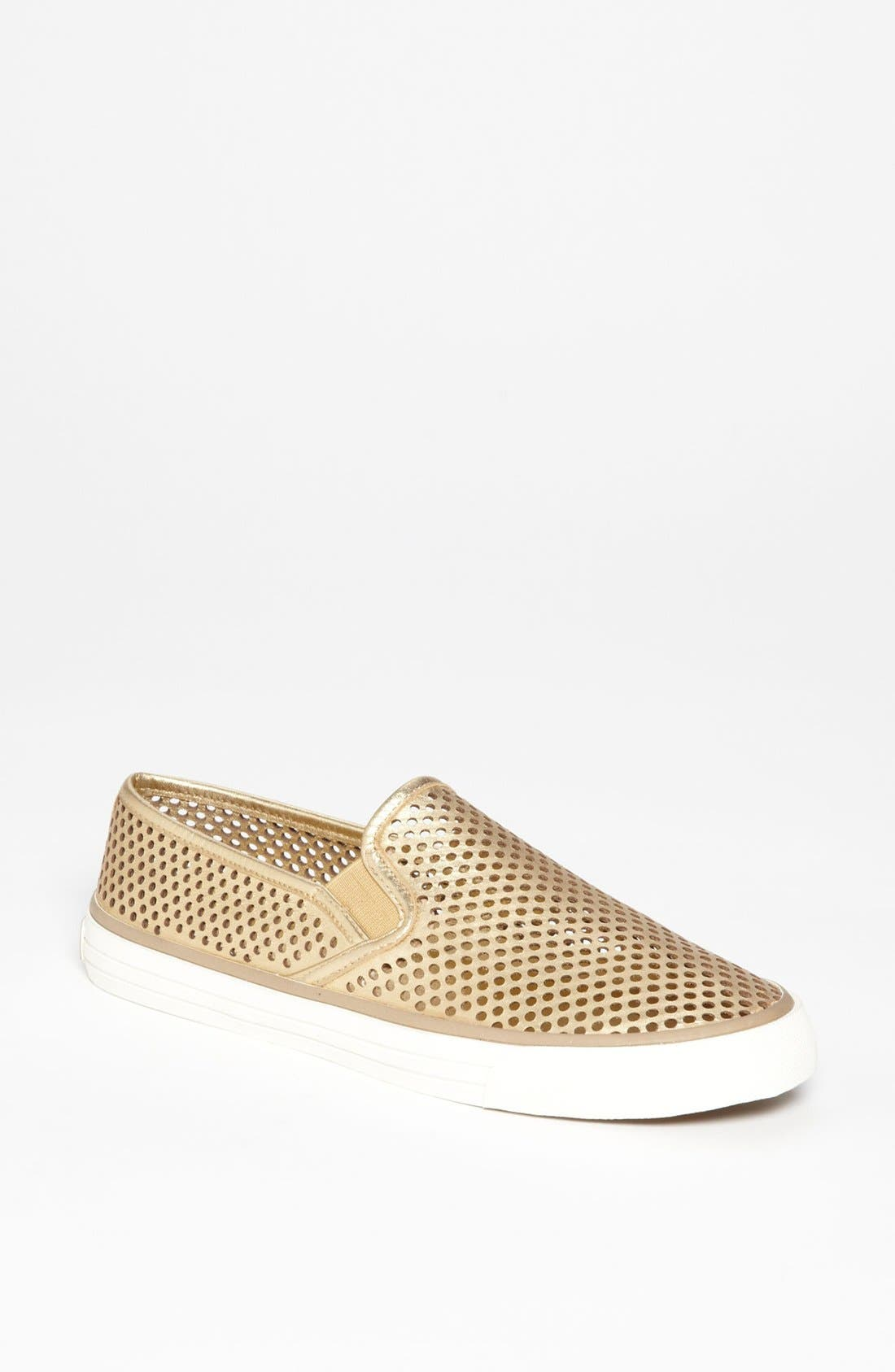 Main Image - Tory Burch 'Miles' Perforated Sneaker