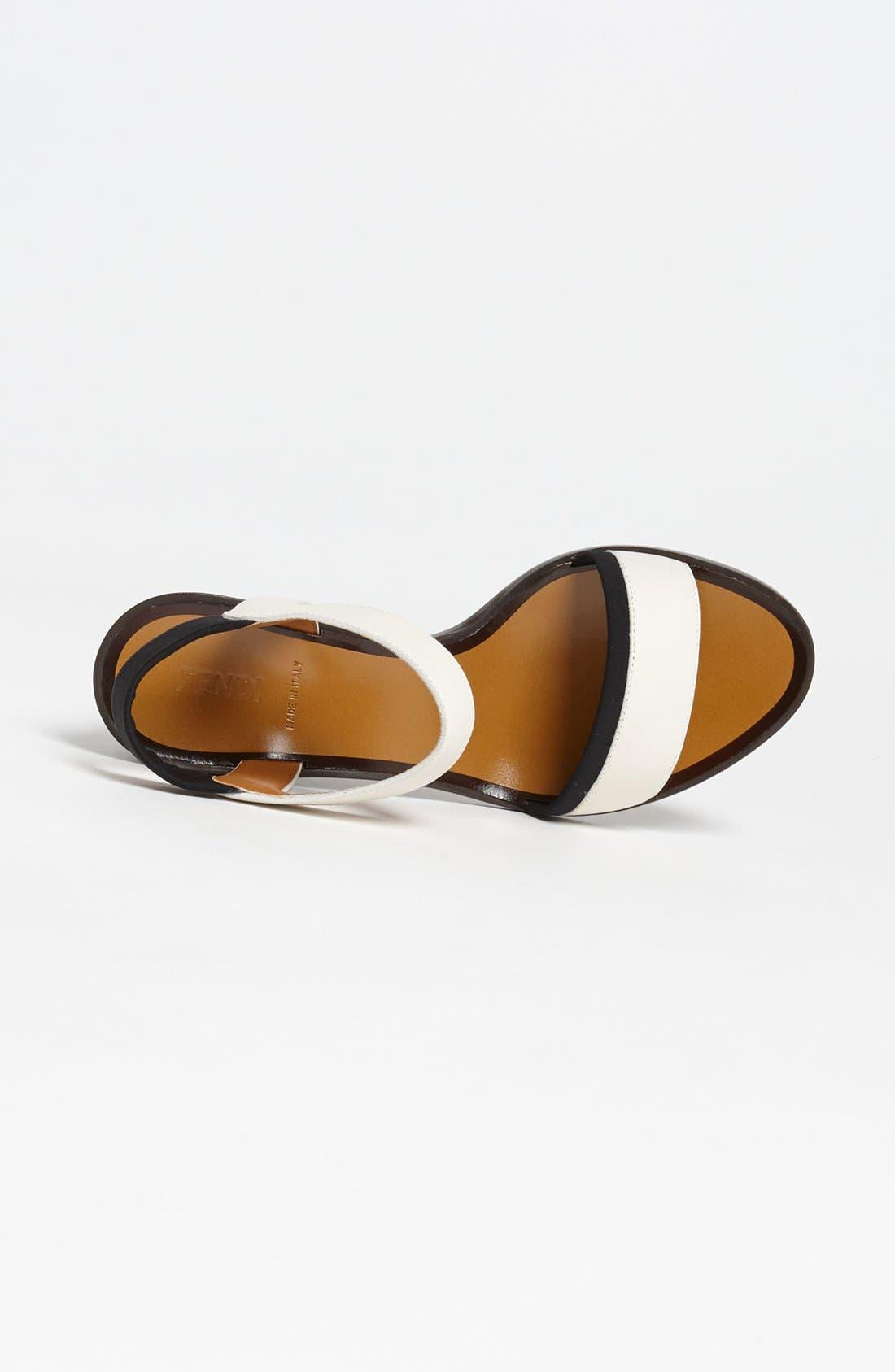Alternate Image 3  - Fendi Sandal