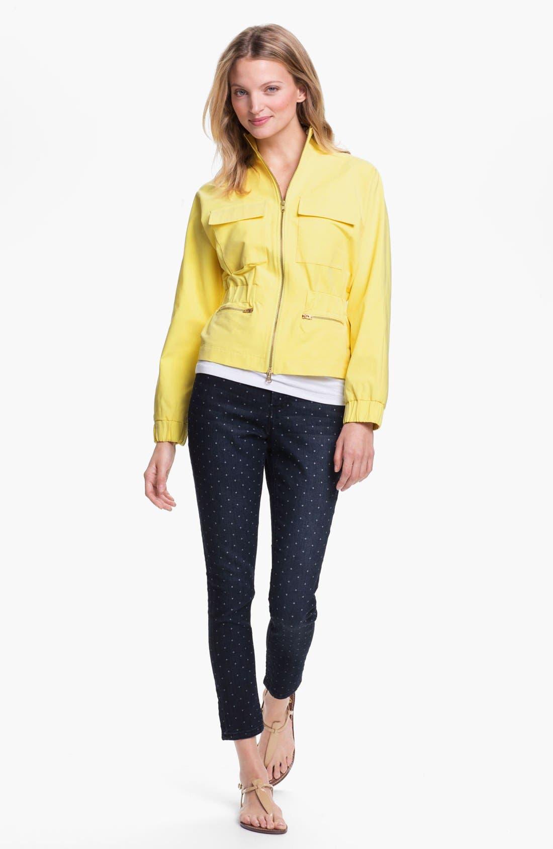 Alternate Image 4  - Isaac Mizrahi New York Four Pocket Jacket