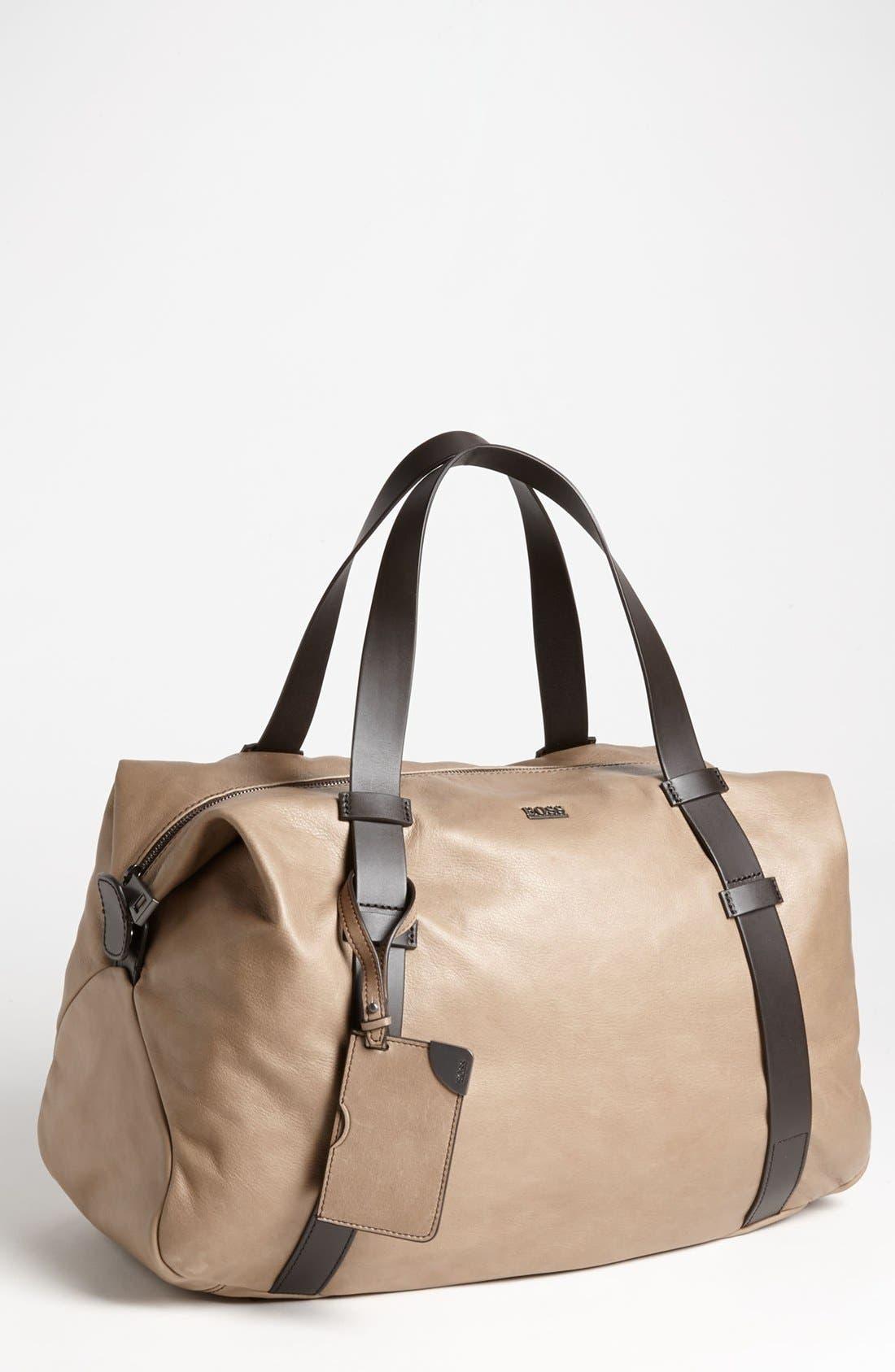 Alternate Image 1 Selected - BOSS Black 'Riris' Duffel Bag