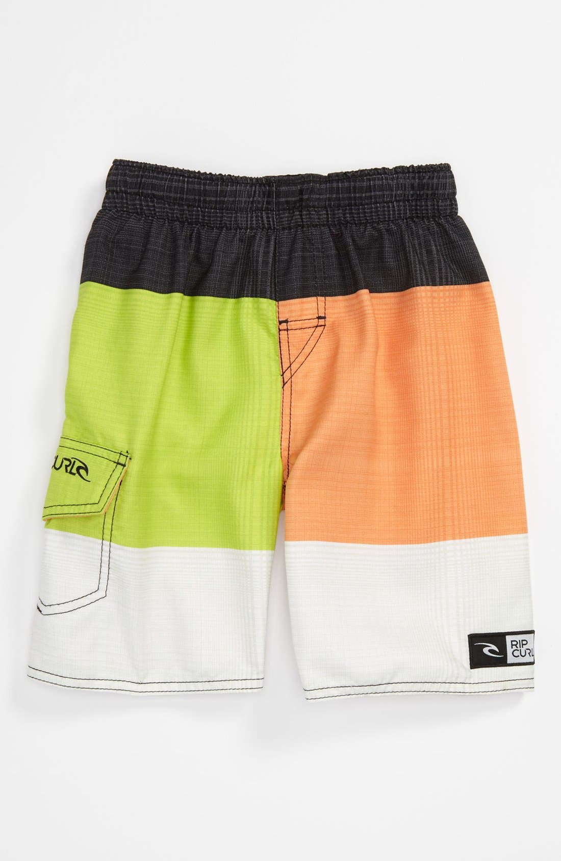 Alternate Image 1 Selected - Rip Curl 'Aggrosections' Volley Shorts (Little Boys)