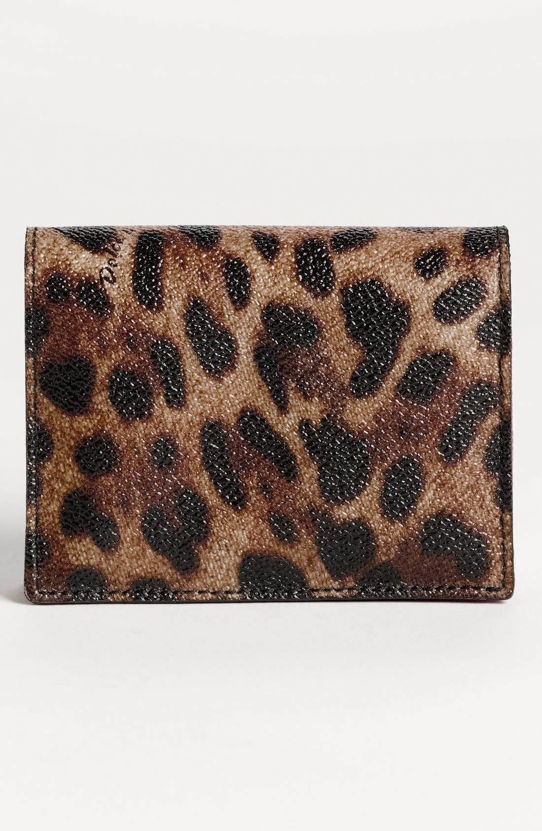Alternate Image 4  - Dolce&Gabbana 'Miss Cleo' Card Case