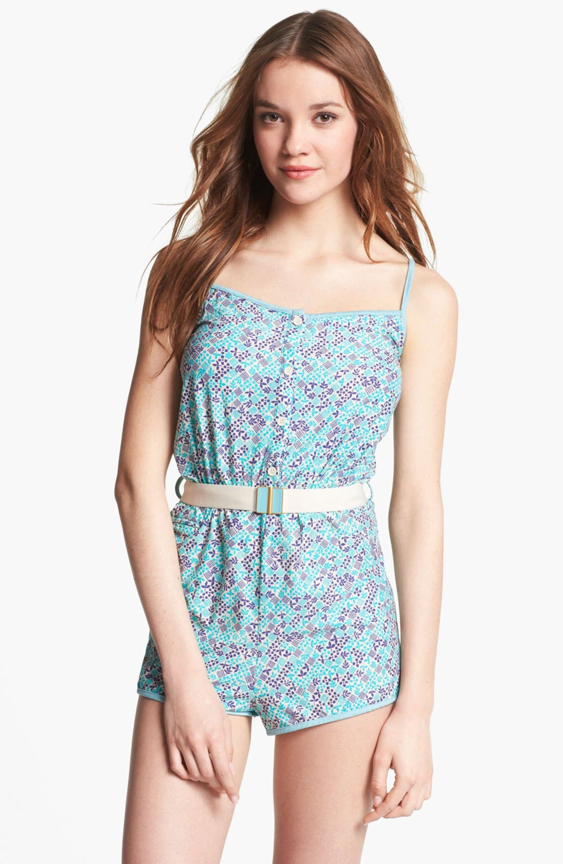 Main Image - MARC BY MARC JACOBS Belted Romper Cover-Up