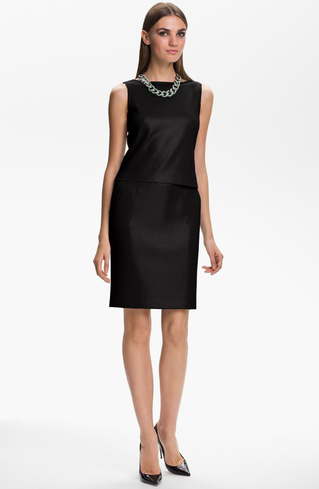 Main Image - St. John Collection Sequin Knit Dress