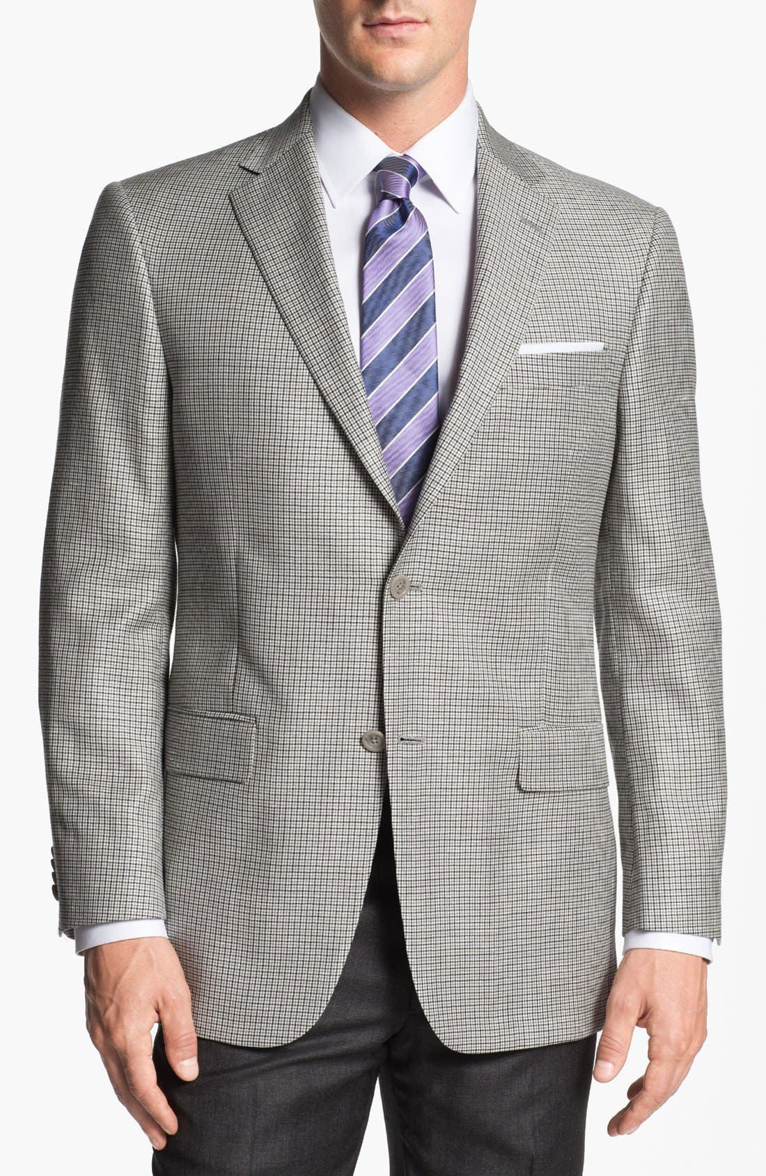Alternate Image 1 Selected - Hart Schaffner Marx Check Sportcoat