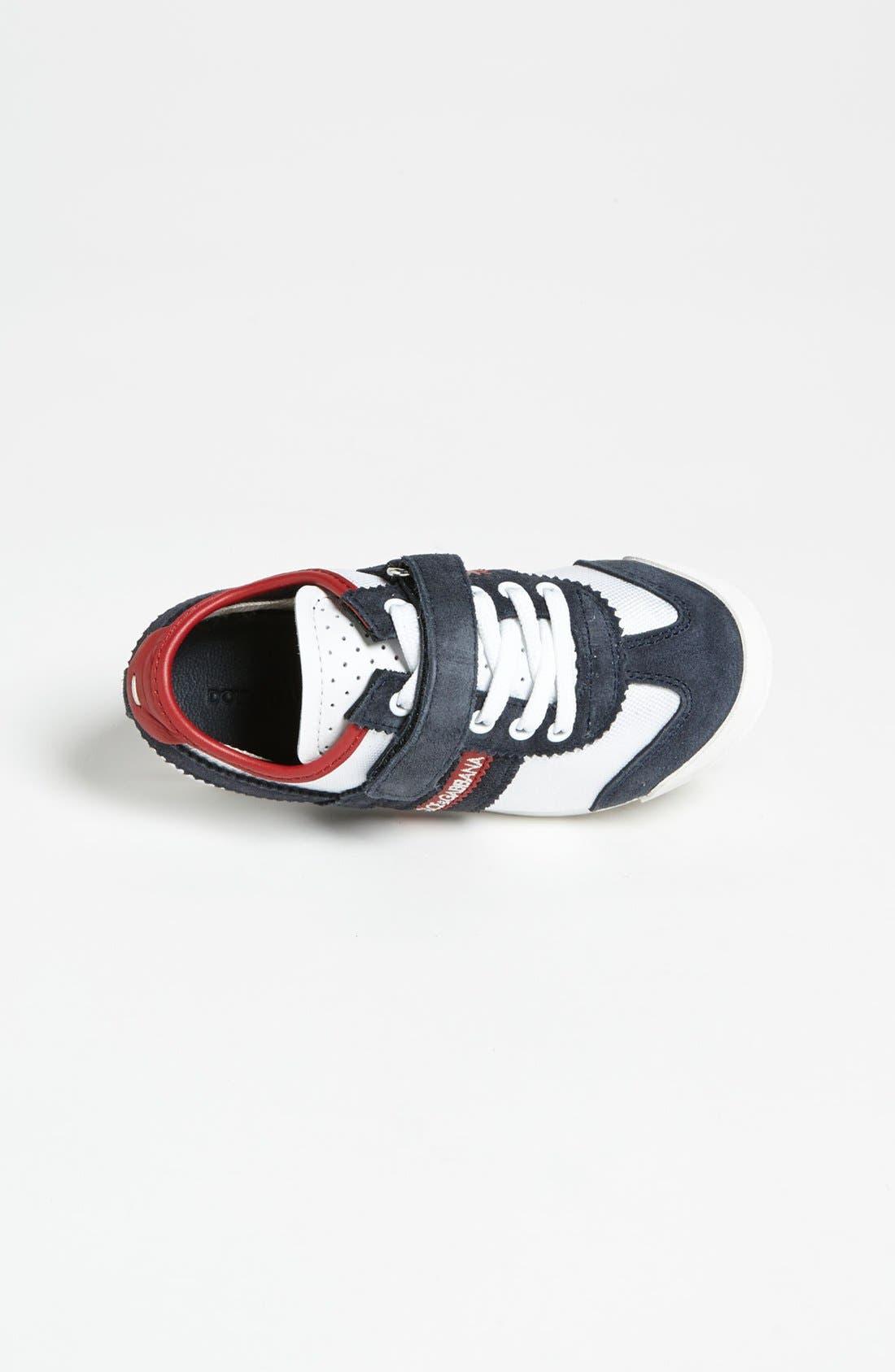 Alternate Image 3  - Dolce&Gabbana Stripe Sneaker (Toddler)