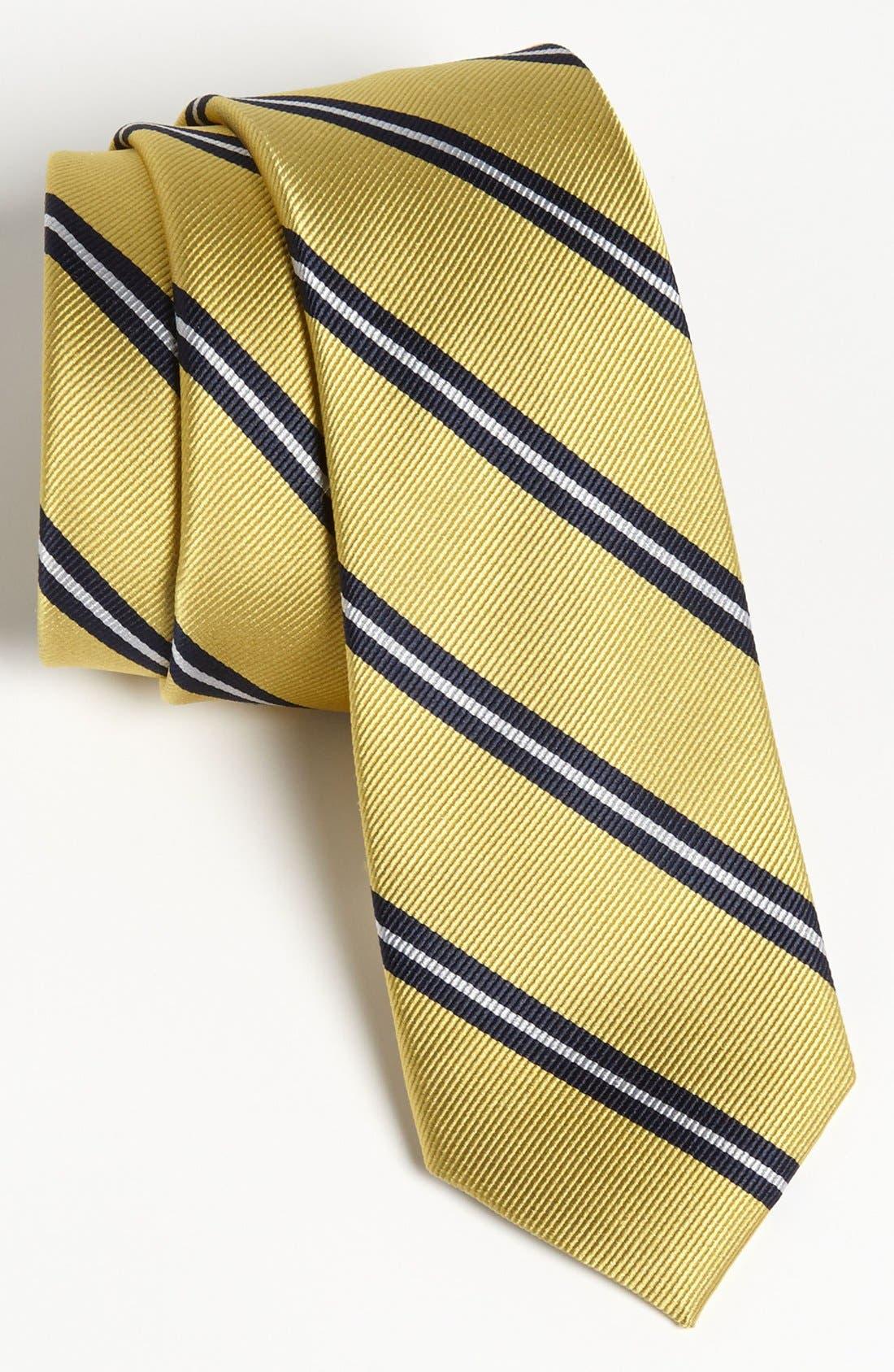 Main Image - 1901 Woven Silk Tie