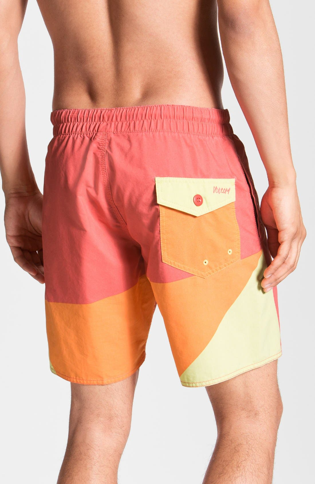 Alternate Image 2  - Volcom 'Mental Fun' Volley Swim Trunks