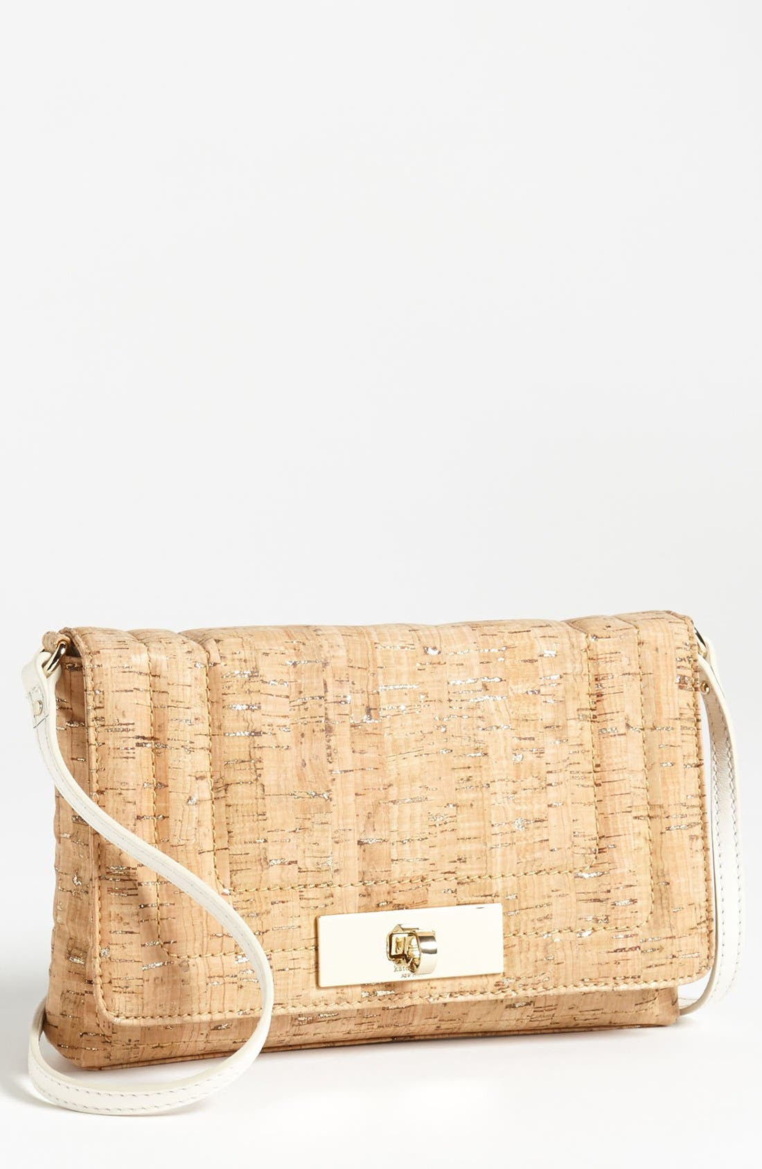 Alternate Image 1 Selected - kate spade new york 'bay terrace - kristie' canvas crossbody bag