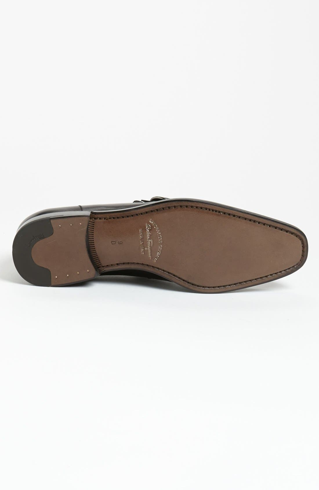 Alternate Image 4  - Salvatore Ferragamo 'Teo' Bit Loafer