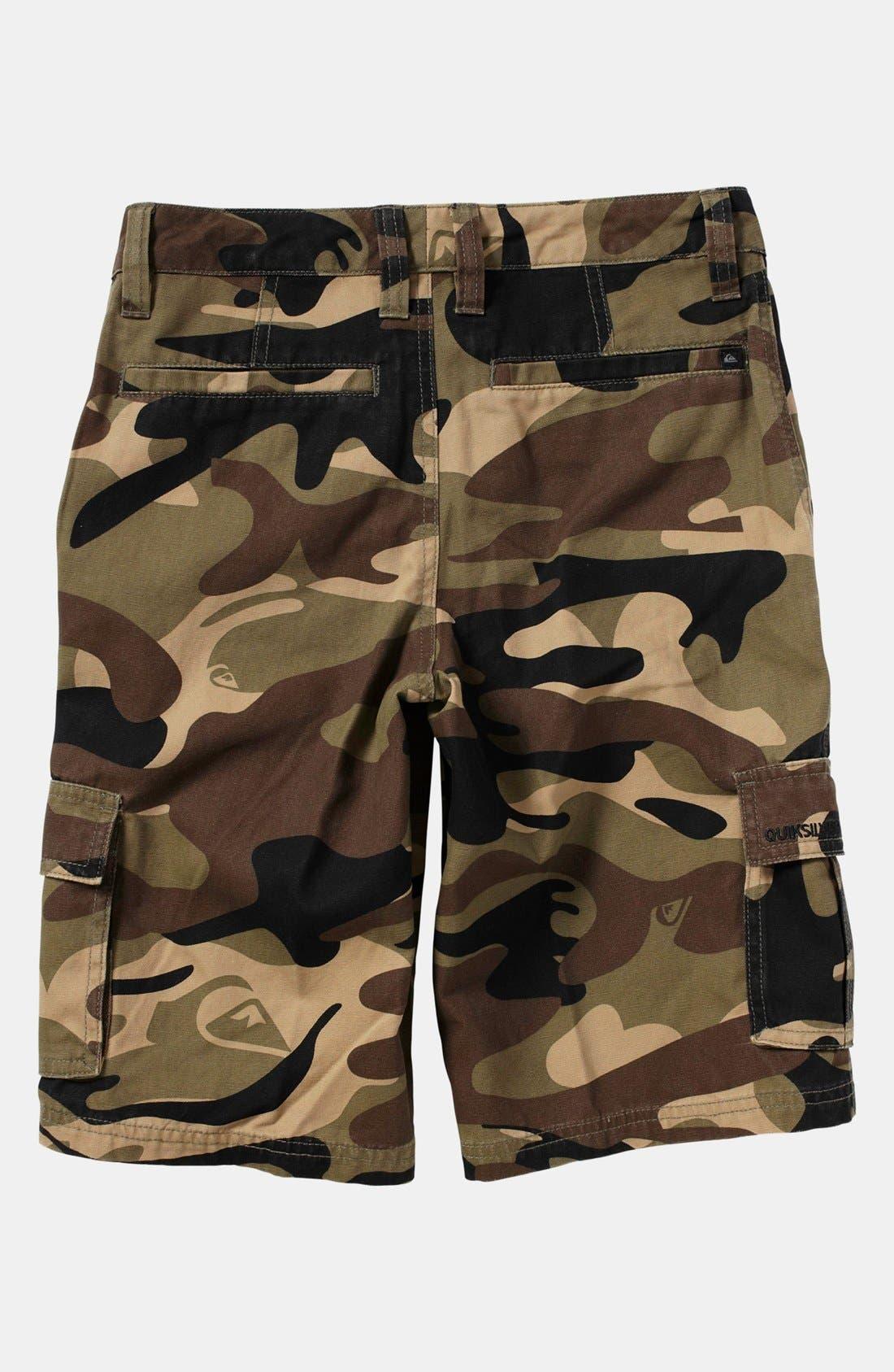 Alternate Image 2  - Quiksilver 'Sue Fley' Camo Shorts (Big Boys)