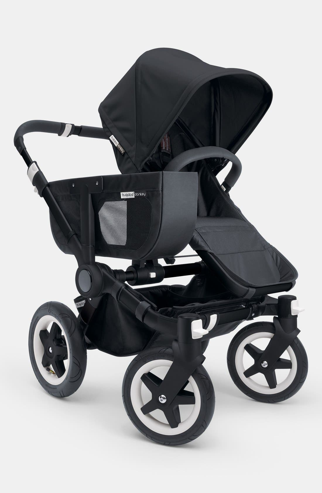 Alternate Image 1 Selected - Bugaboo 'Donkey - All Black' Stroller