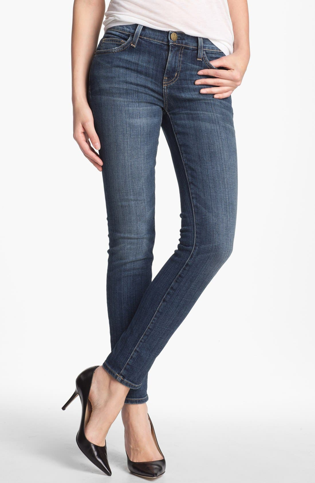 Main Image - Current/Elliott 'The Ankle' Skinny Jeans (Loved)
