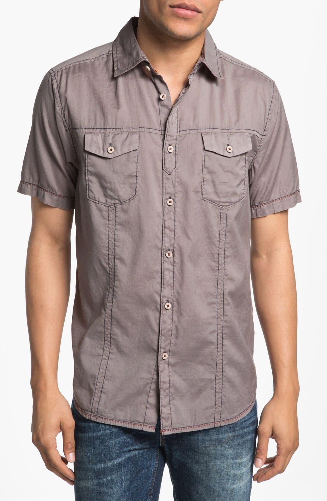 Alternate Image 1 Selected - Jeremiah 'Rogan' Short Sleeve Sport Shirt