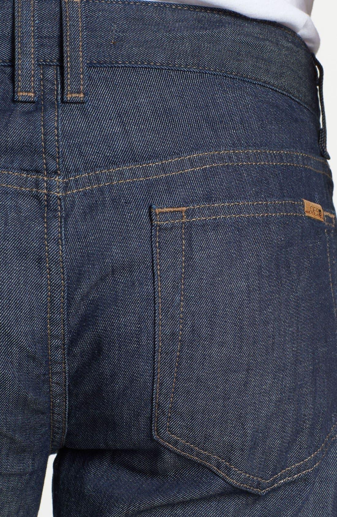 Alternate Image 4  - Joe's 'Brixton' Slim Fit Selvedge Jeans (Laures)