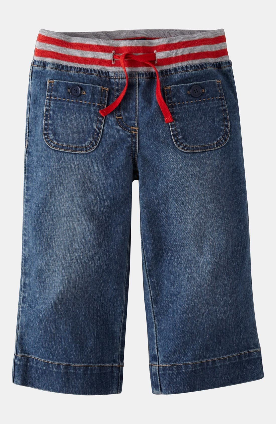 Main Image - Mini Boden 'Sailor' Capri Pants (Little Girls & Big Girls)