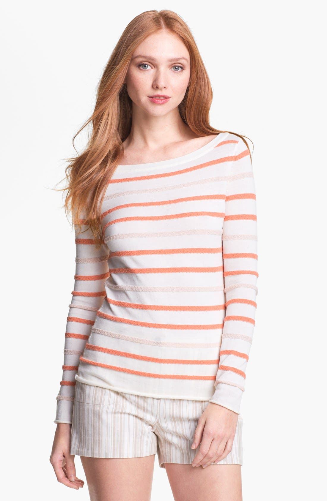 Alternate Image 1 Selected - Tory Burch 'Carrie' Sweater