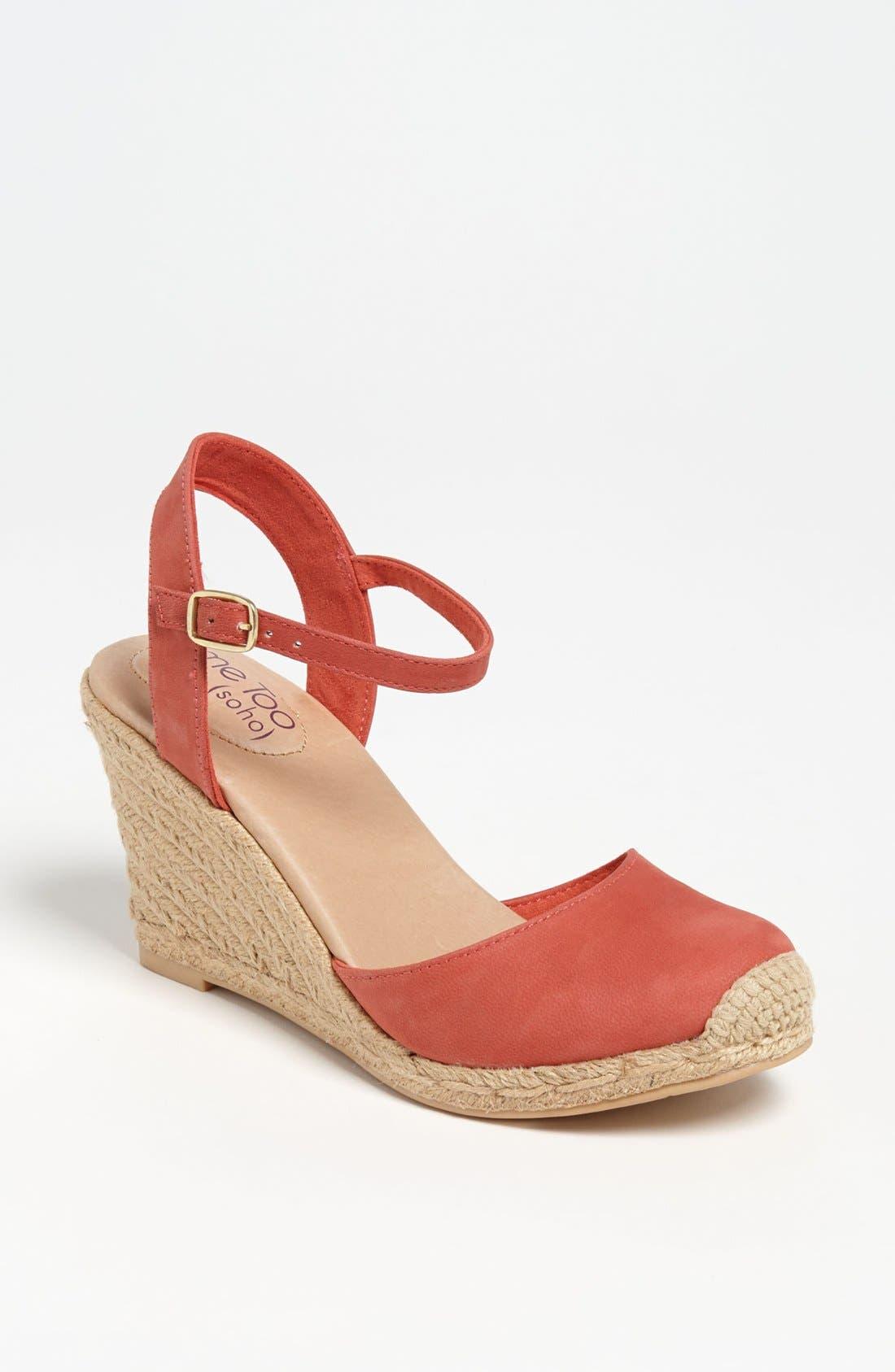 Main Image - Me Too 'Bethany' Wedge Sandal