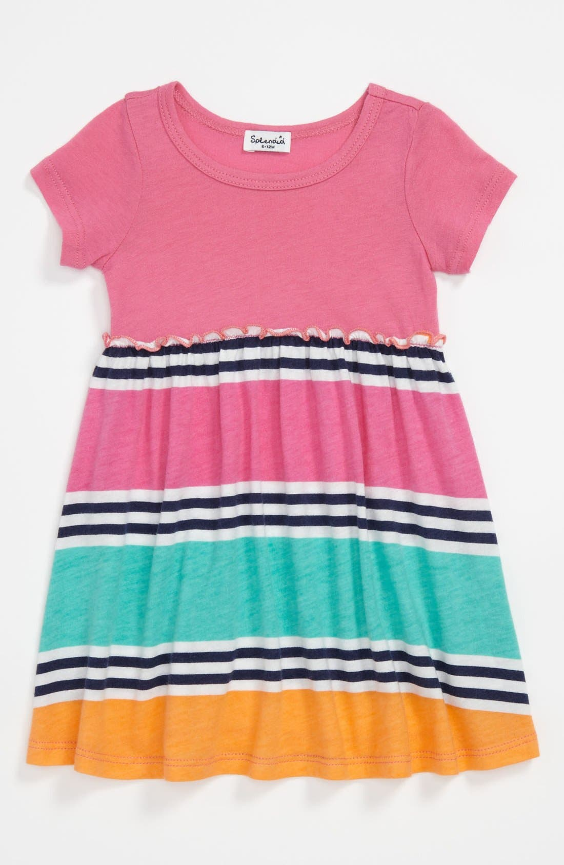 Alternate Image 1 Selected - Splendid 'Cabana Stripe' Dress (Baby)