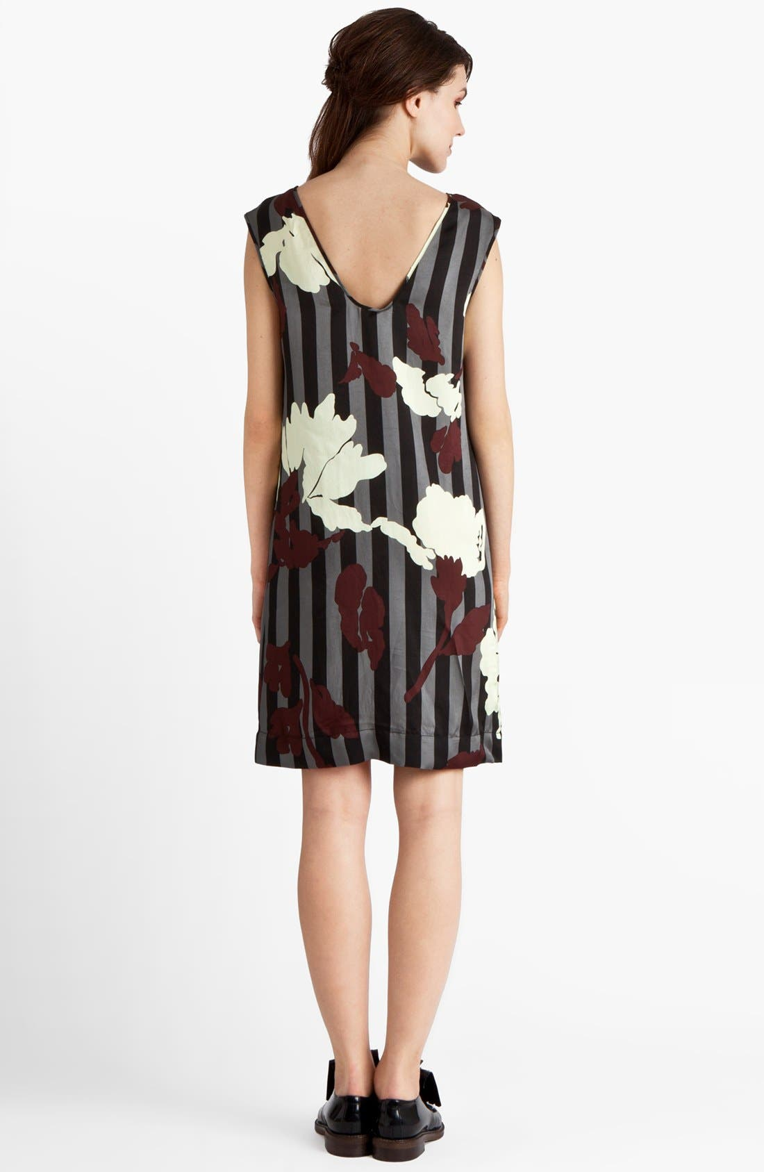 Alternate Image 2  - Marni Stripe & Floral Print Twill Dress