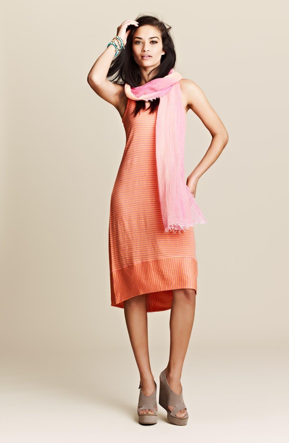 Alternate Image 5  - Eileen Fisher Racerback Linen Jersey Dress