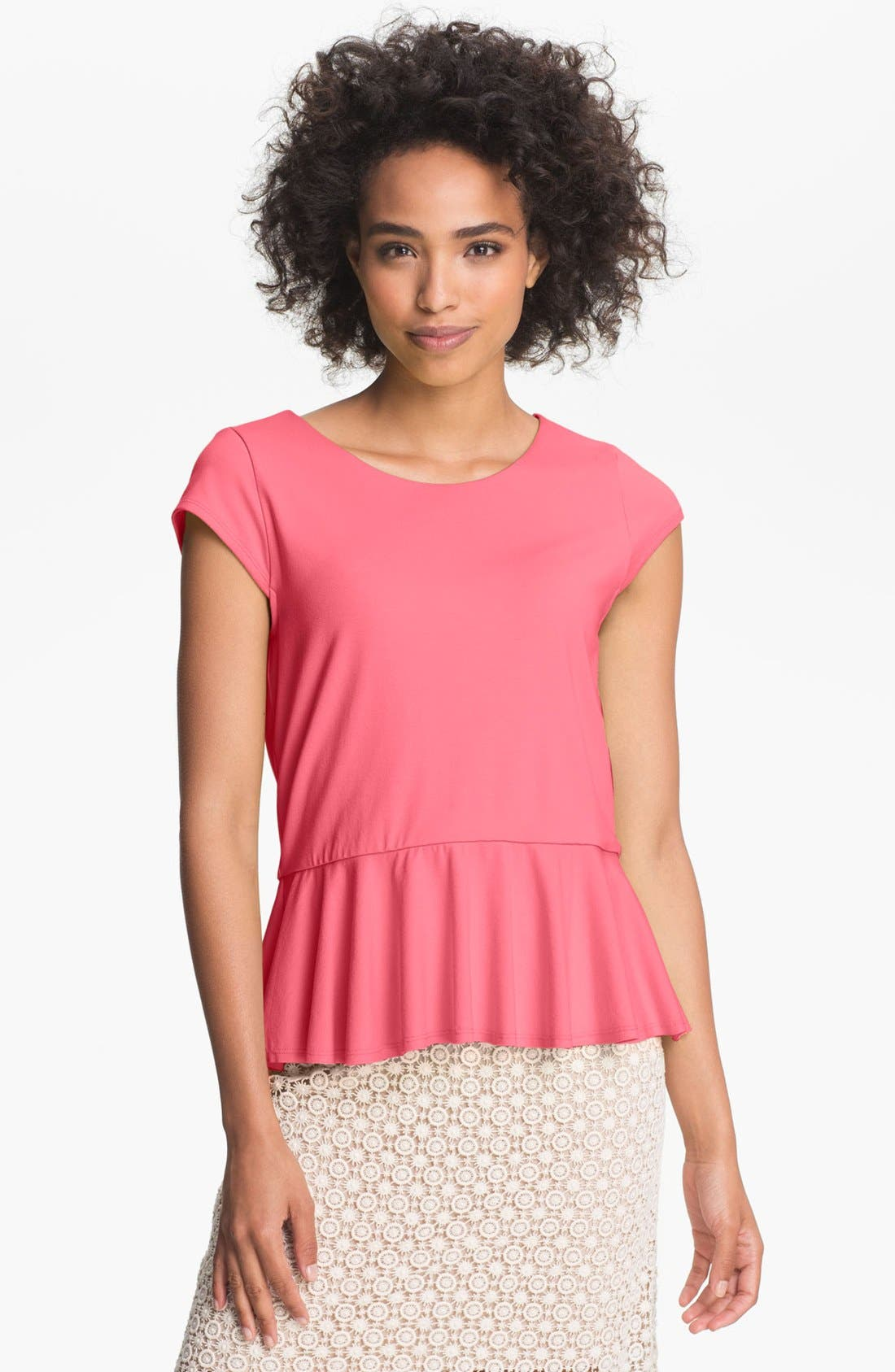 Alternate Image 1 Selected - Vince Camuto Peplum Blouse
