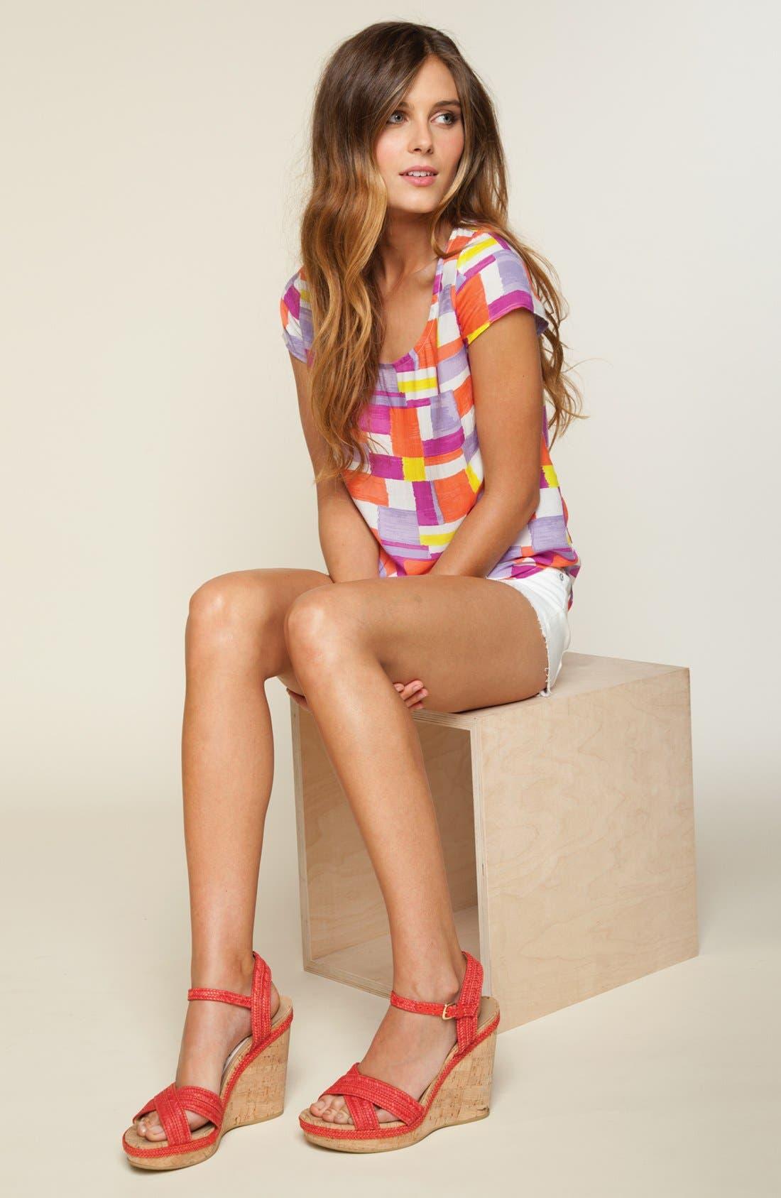 Main Image - Splendid Tee & Paige Denim Shorts