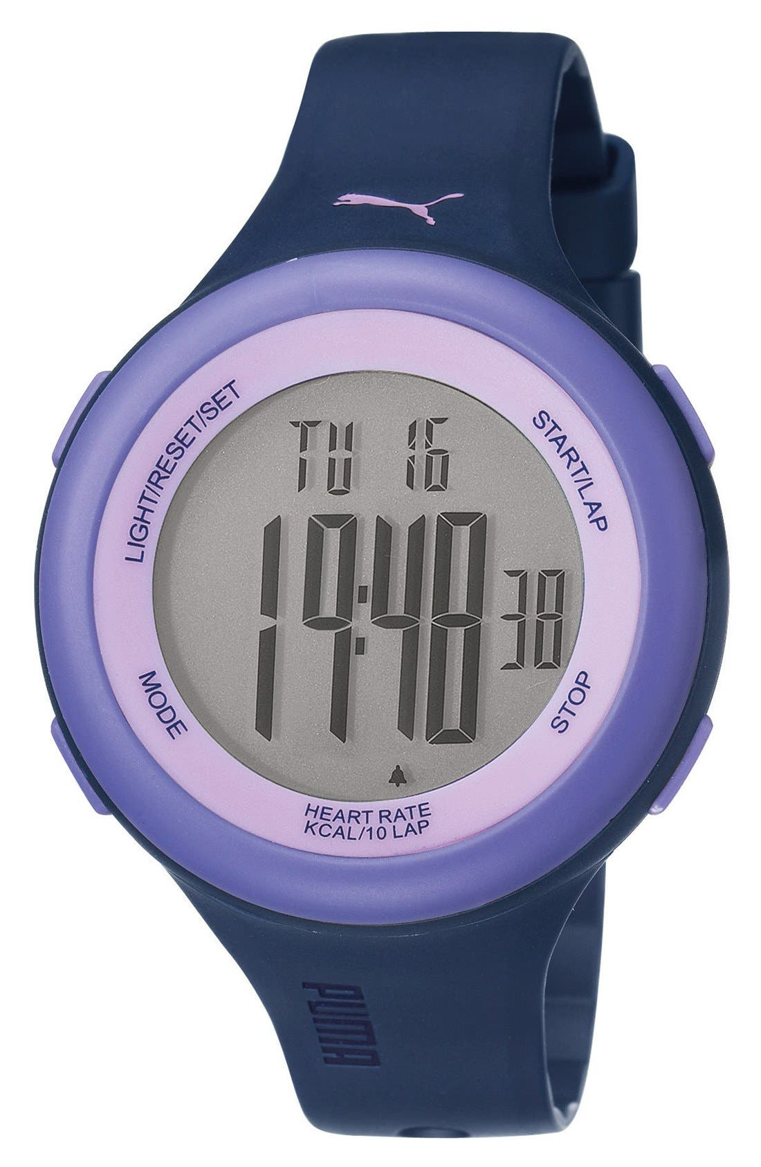 Alternate Image 1 Selected - PUMA 'Fit' Heart Rate Monitor Watch