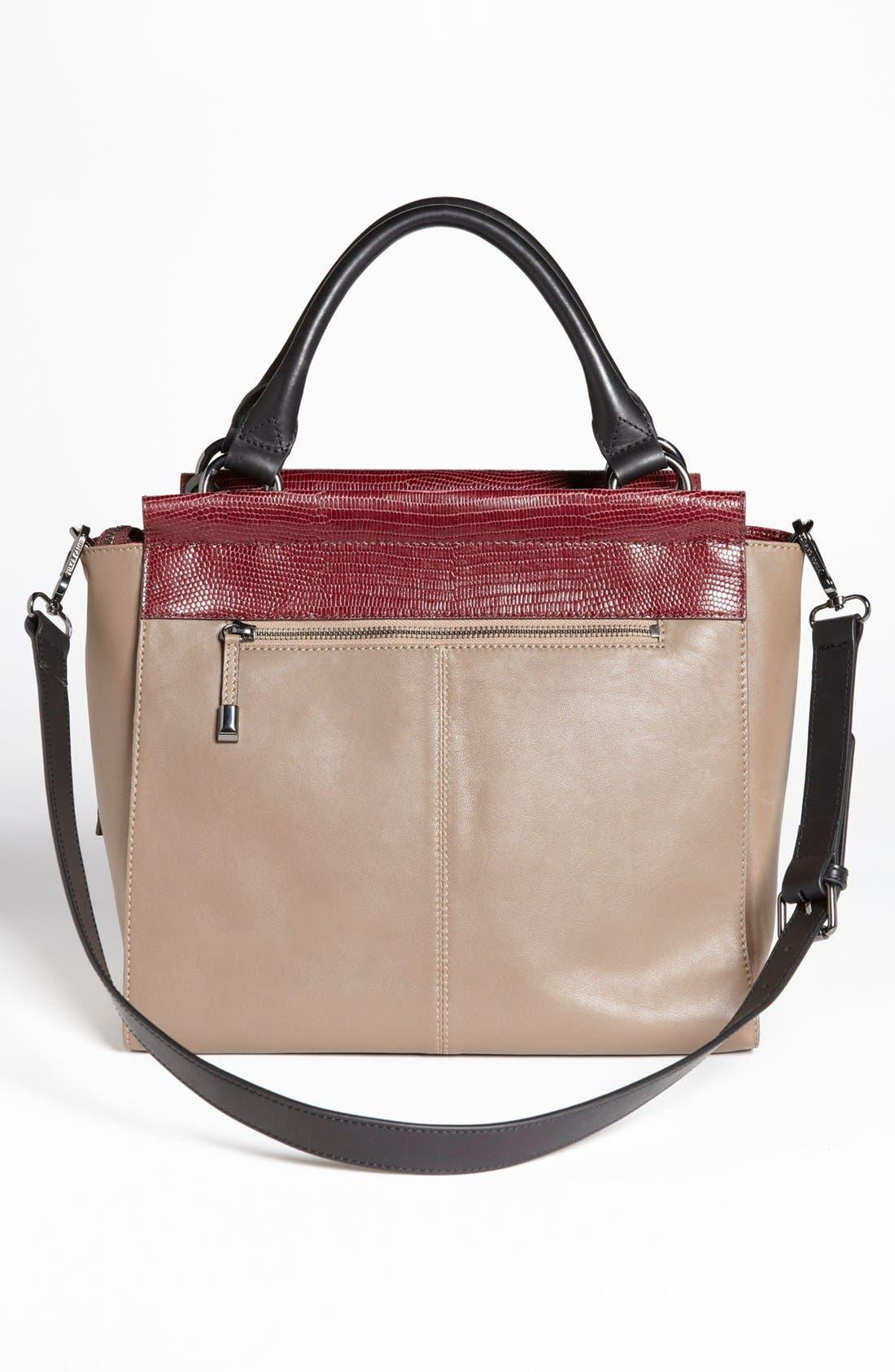 Alternate Image 4  - Vince Camuto 'Max' Leather Satchel, Medium