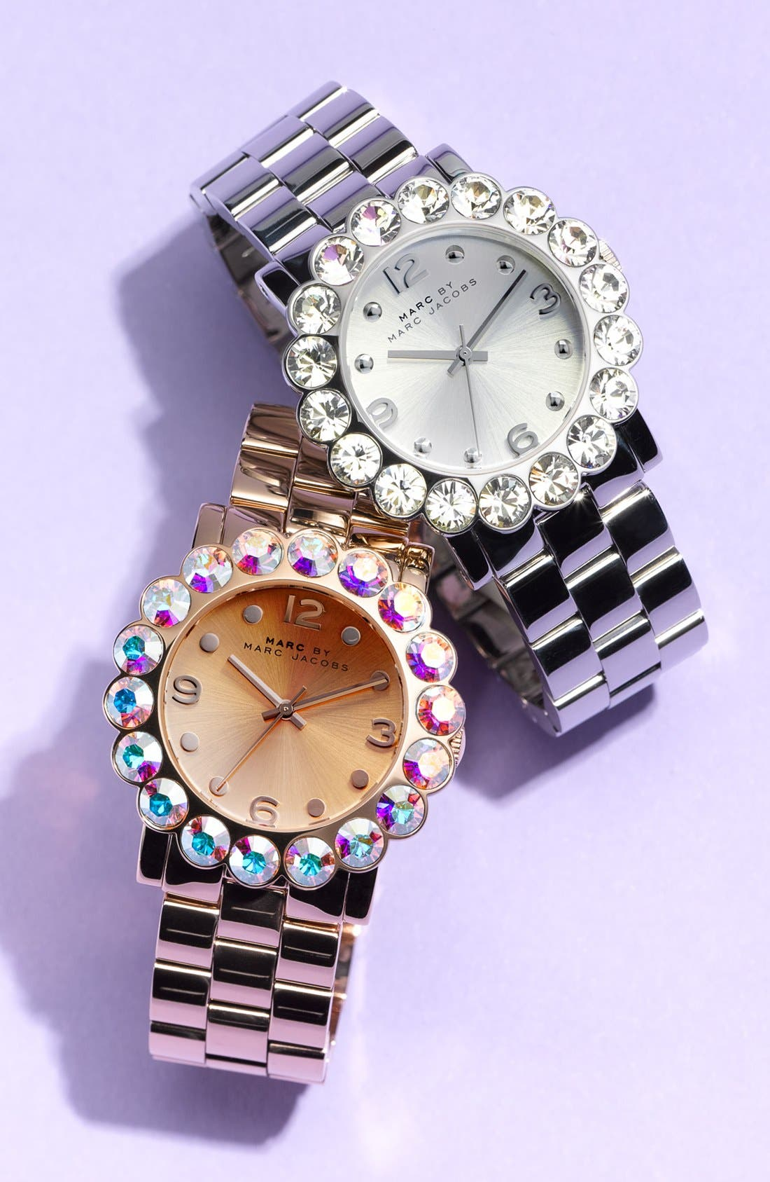 Alternate Image 2  - MARC BY MARC JACOBS 'Amy Scallop' Bracelet Watch, 39mm