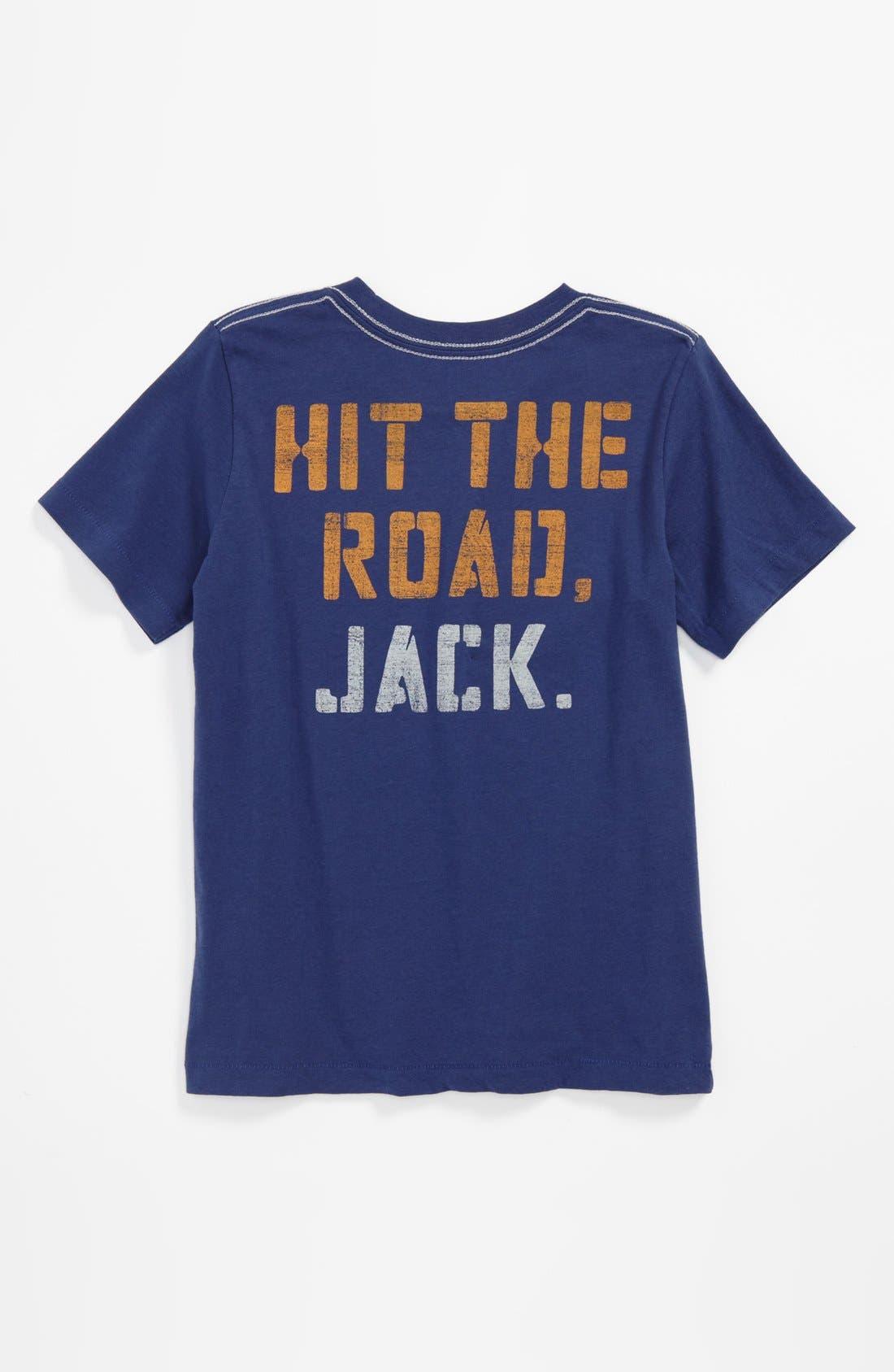 Alternate Image 2  - Peek 'Route 66' T-Shirt (Big Boys)
