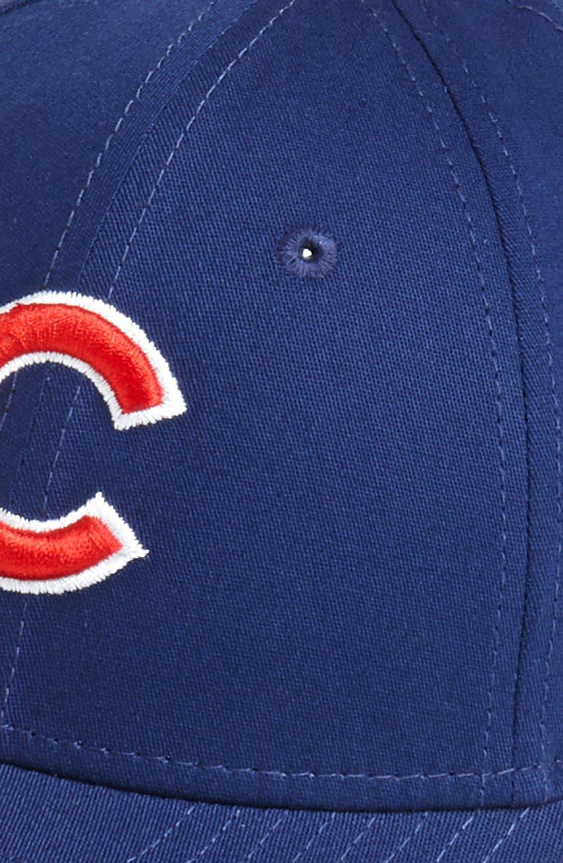 Alternate Image 2  - New Era Cap 'Chicago Cubs - Tie Breaker' Baseball Cap (Big Boys)