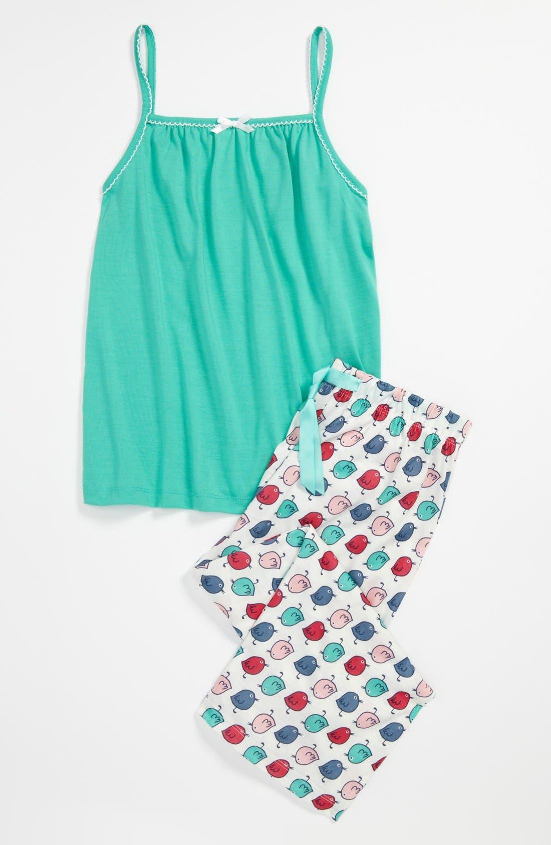 Main Image - Tucker + Tate Two-Piece Pajamas (Little Girls & Big Girls)