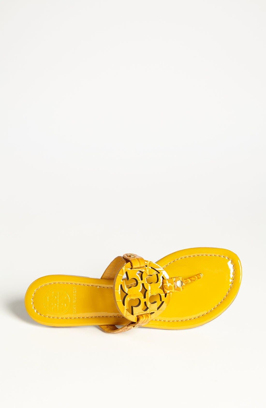 Alternate Image 4  - Tory Burch 'Miller' Croc Embossed Sandal (Online Only)