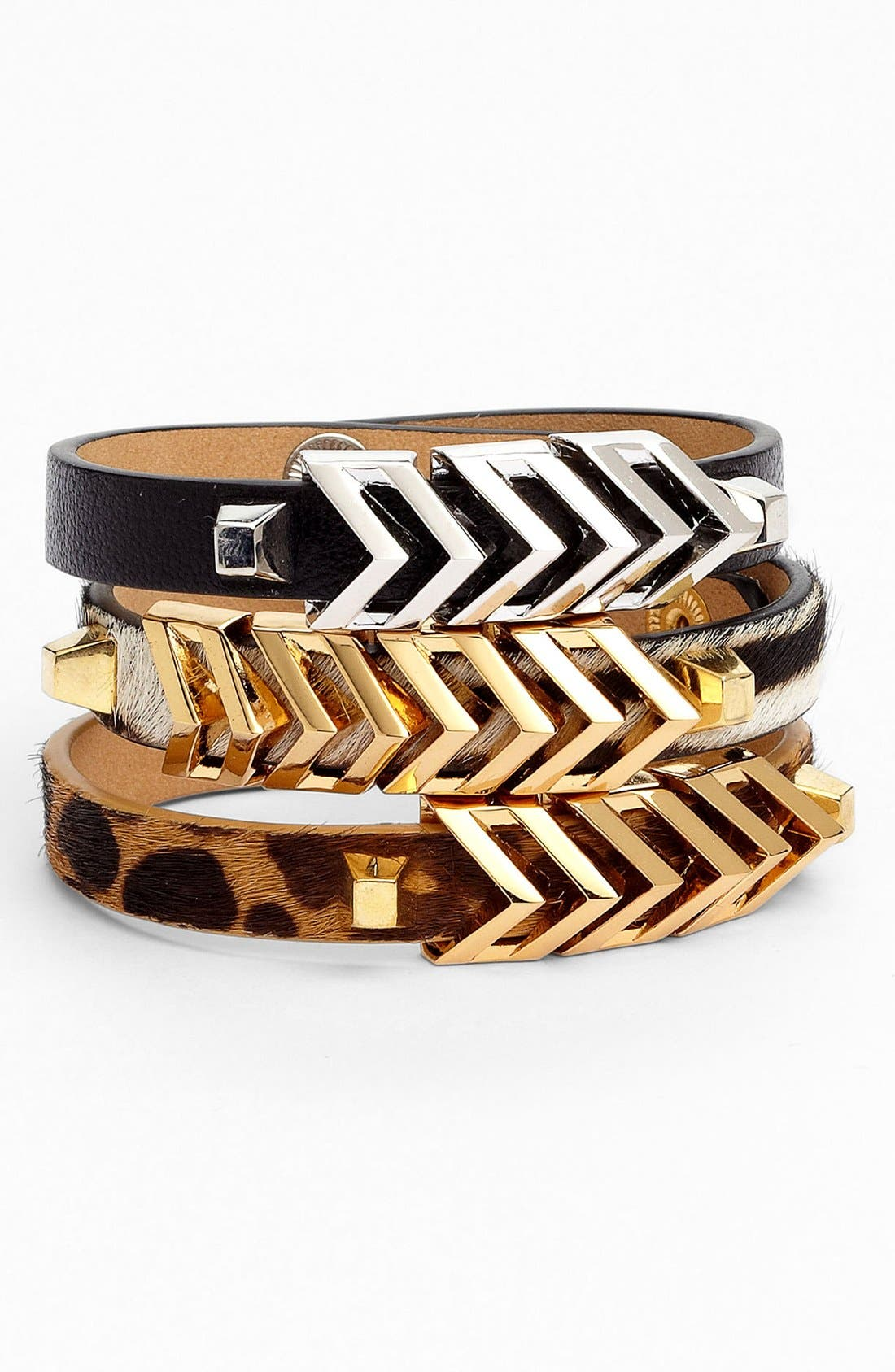 Alternate Image 1 Selected - Vince Camuto 'Call of the Wild' Chevron Bracelet (Nordstrom Exclusive)