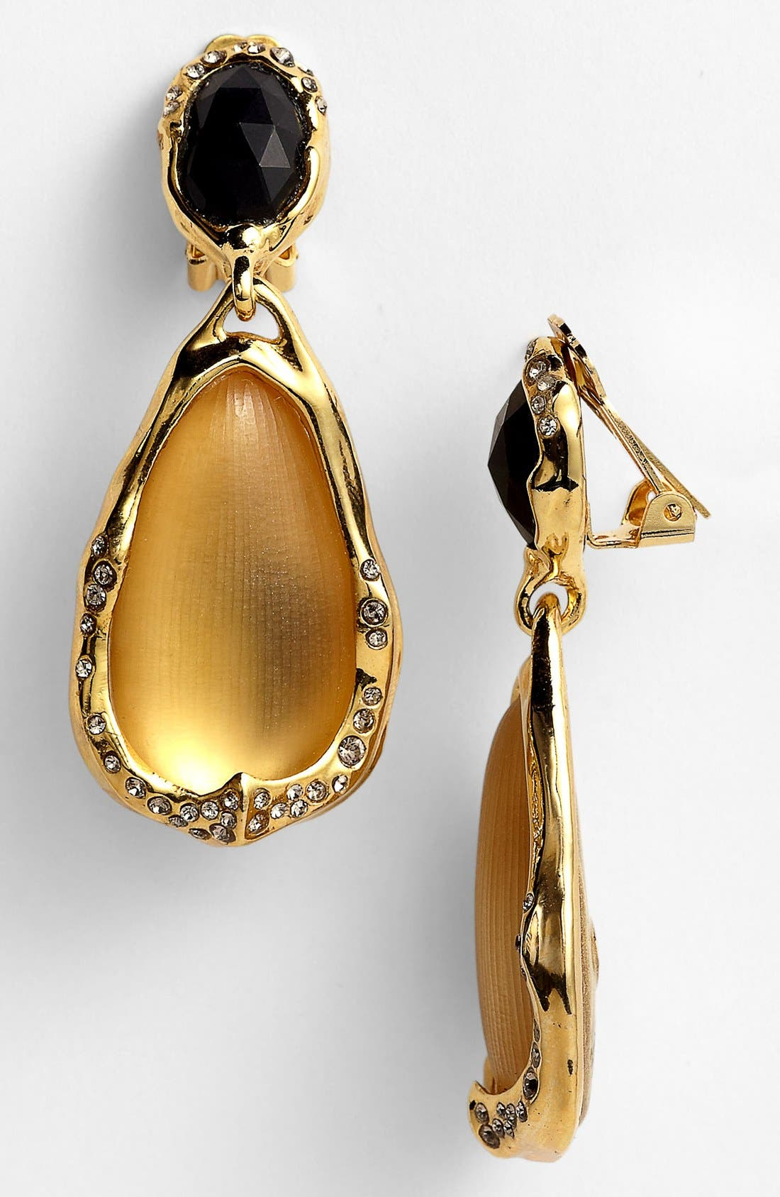 Alternate Image 1 Selected - Alexis Bittar 'Lucite®' Drop Clip Earrings (Nordstrom Exclusive)