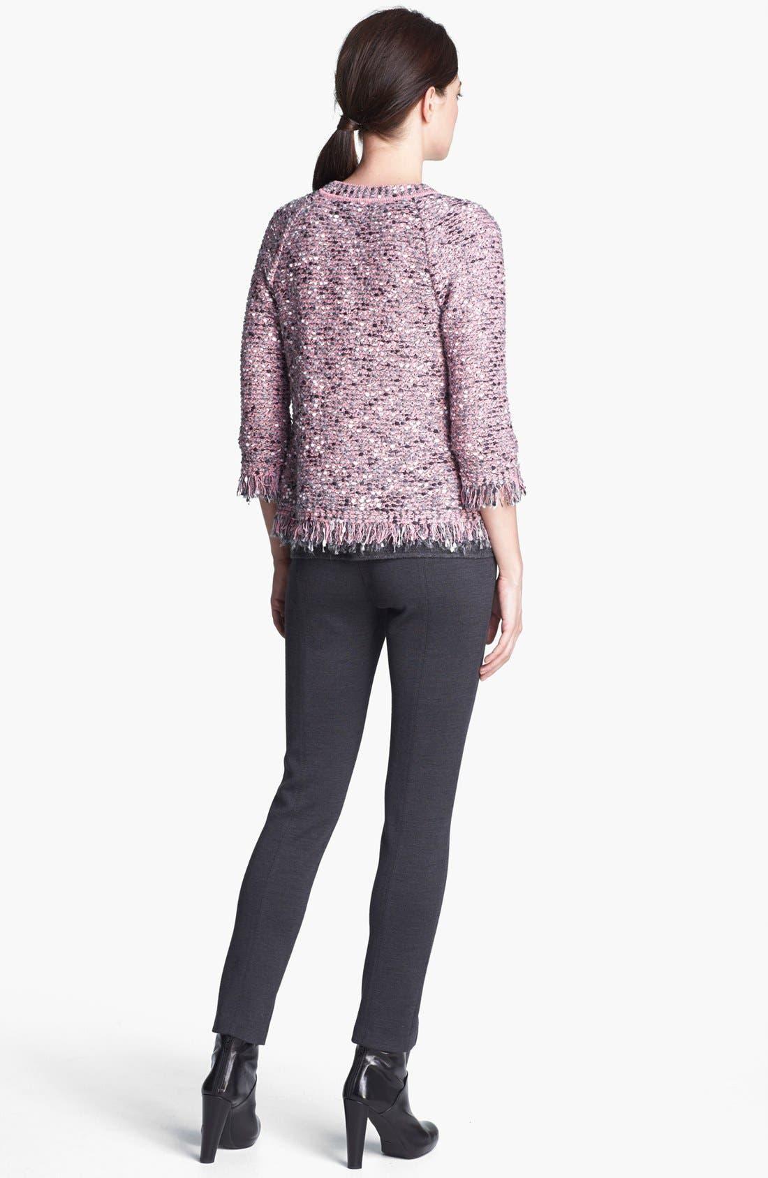Alternate Image 3  - St. John Collection 'Jennifer' Slim Milano Knit Pants