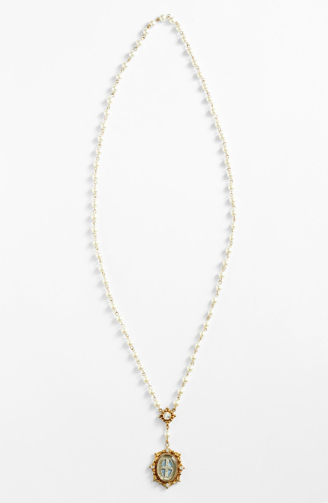 Main Image - Virgins Saints and Angels Beaded Necklace (Nordstrom Exclusive)