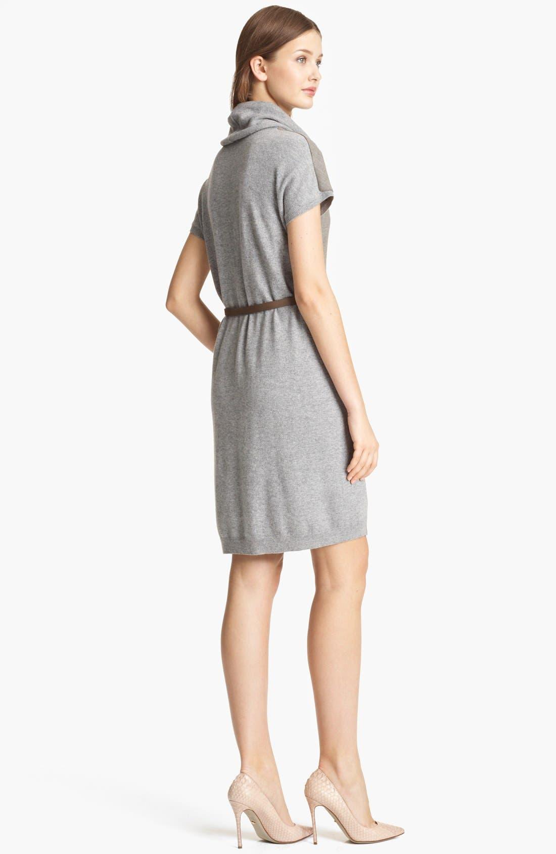 Alternate Image 2  - Fabiana Filippi Wool Front Sweater Dress